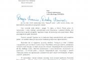 List Rzecznika Praw Dziecka na koniec roku szkolnego