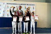 Sukces Oskara w turnieju szermierczym Warszawskiej Olimpiady Młodzieży