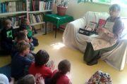 Spotkanie z literaturą i sztuką w bibliotece szkolnej