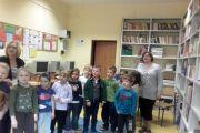 Spotkanie w bibliotece uczniów klas pierwszych