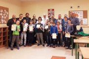 Pierwsza edycja rodzinnego turnieju szachowego Szkoły Podstawowej  im. Witolda Doroszewskiego