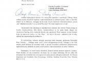 List do Uczennic i Uczniów z okazji zakończenia roku szkolnego 2016/2017